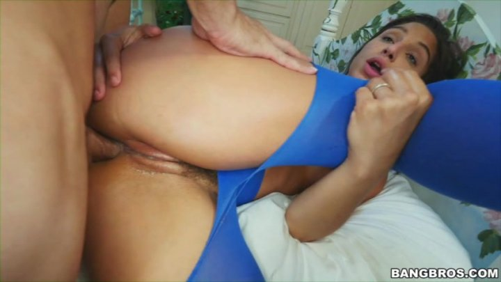 Alaina dawson gets twisted up with cock 1