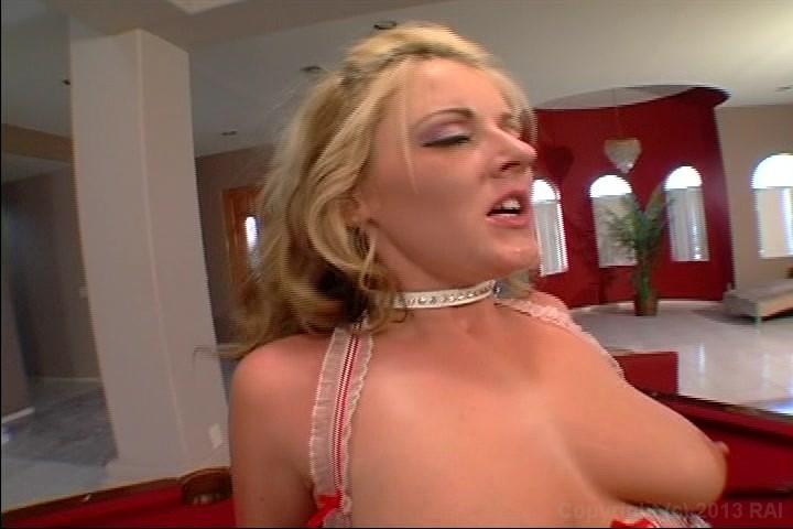 Big white butt lingerie show