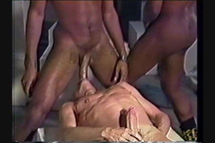 naked sex one woman two men