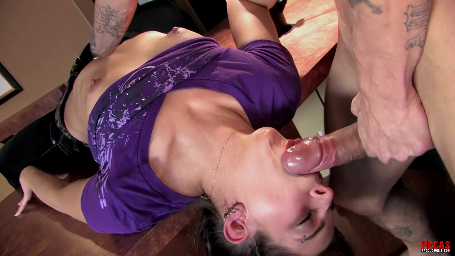 Babe Gets Face Fucked
