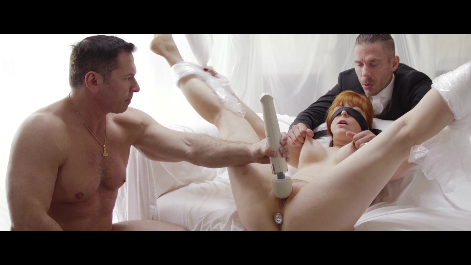 Scene with John Strong, Mick Blue and Penny Pax - image 10 out of 20