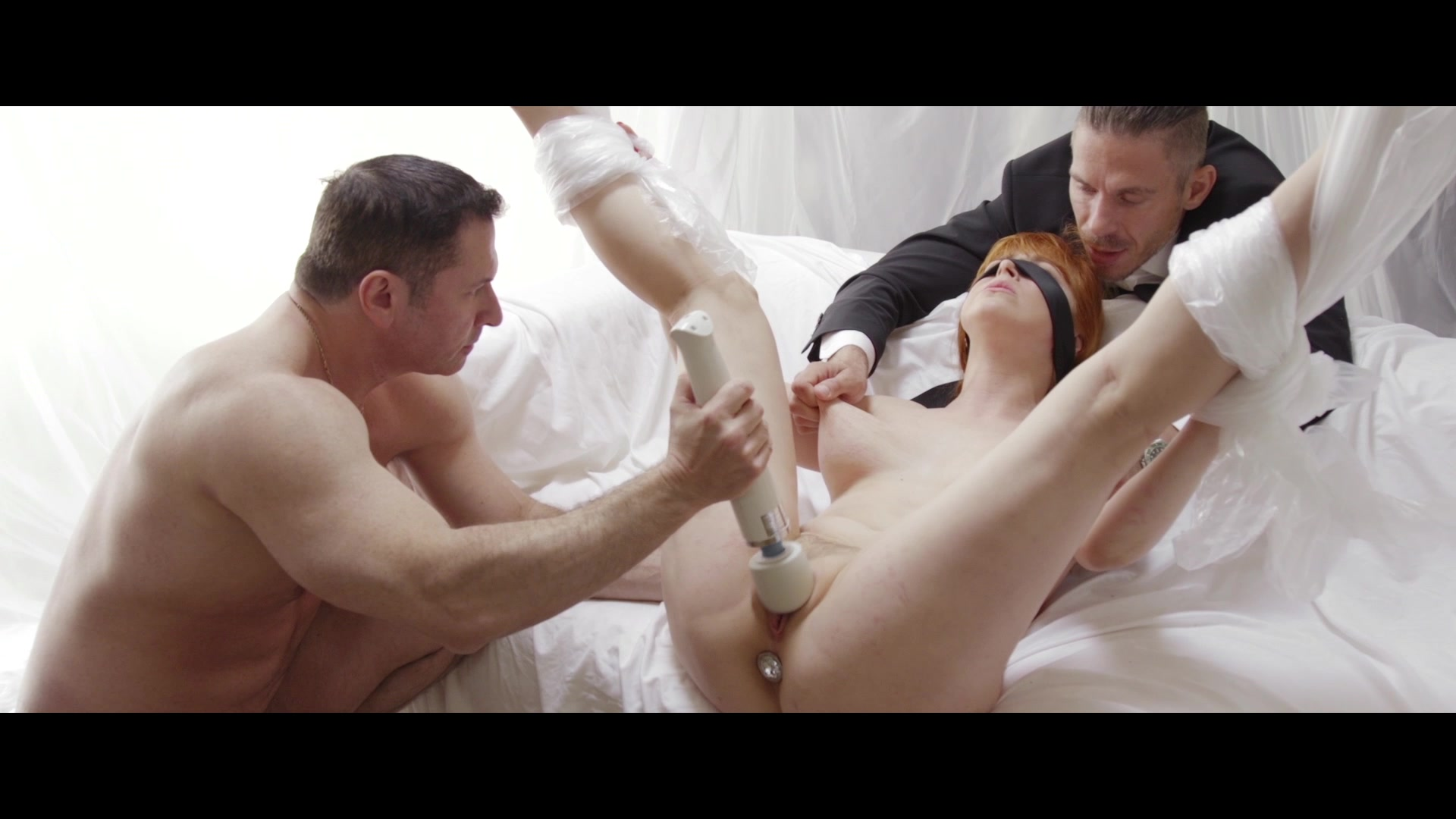 Scene with John Strong, Mick Blue and Penny Pax - image 11 out of 20