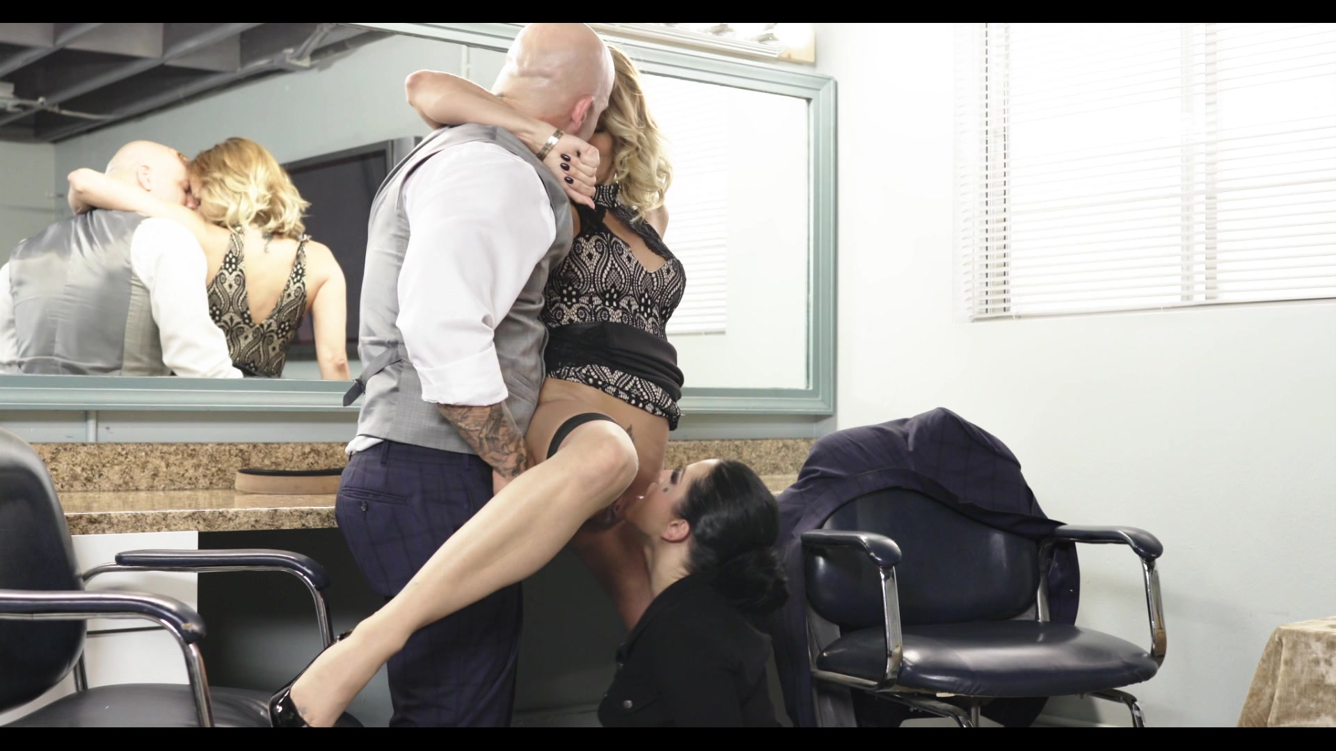 Scene with Jessica Drake, Derrick Pierce and Katrina Jade - image 12 out of 20