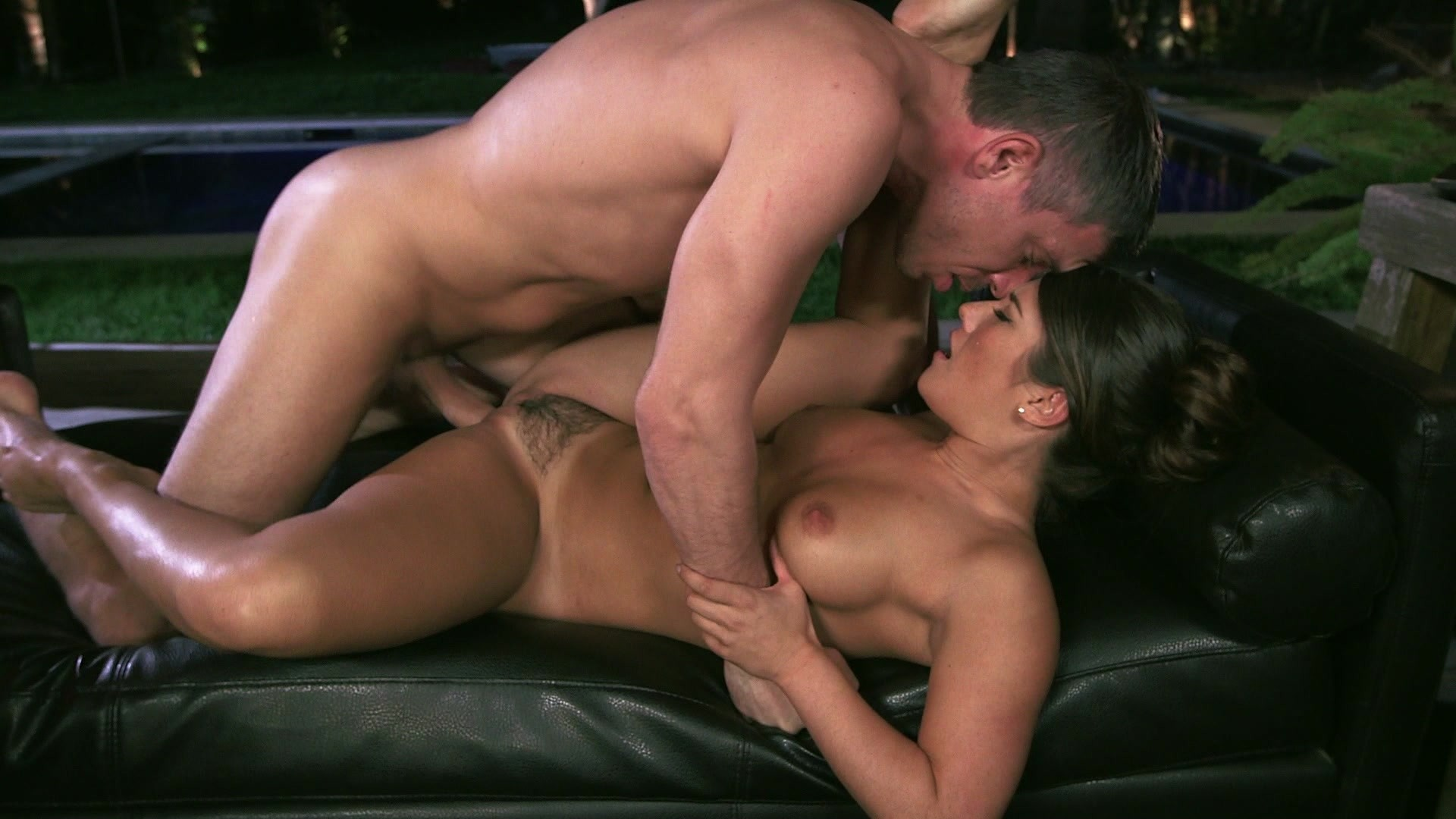 Beautiful Brunette Eva Lovia Gets Licked and Fucked by Hung Stud Mick Blue and S... Starring: Mick Blue Eva Lovia Length: 25 min
