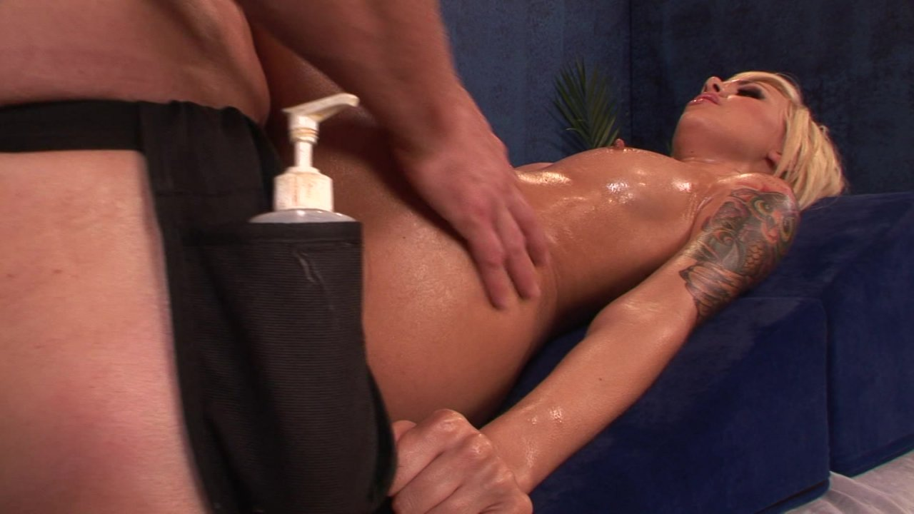 Japanese oil massage