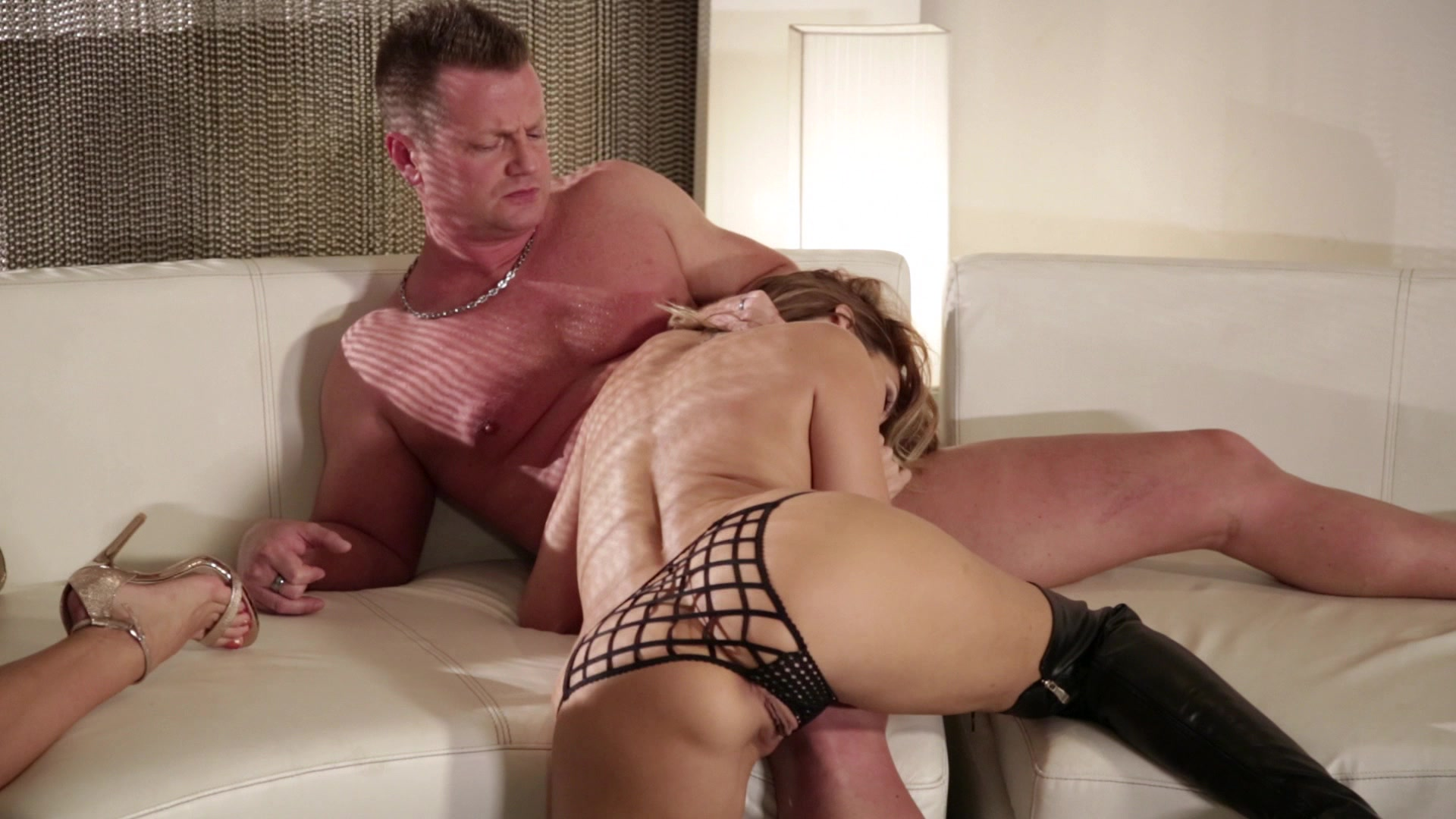 Scene with Jessica Drake, Morgan Lee and Honey Gold - image 12 out of 20