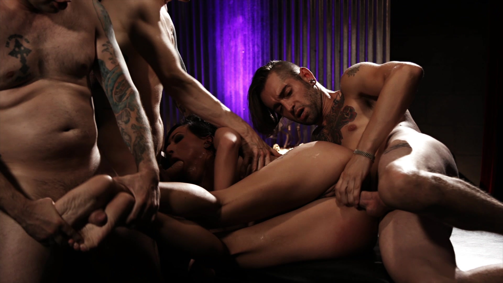 Scene with Tommy Pistol, Lily Lane and Owen Gray - image 12 out of 20
