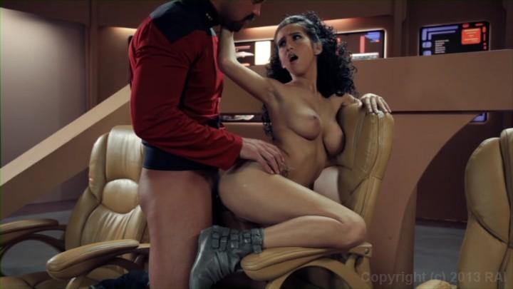 Star Trek The Next Generation: A XXX Parody Scene 1 Starring: Rocco Reed April O'Neil Length: 18 min