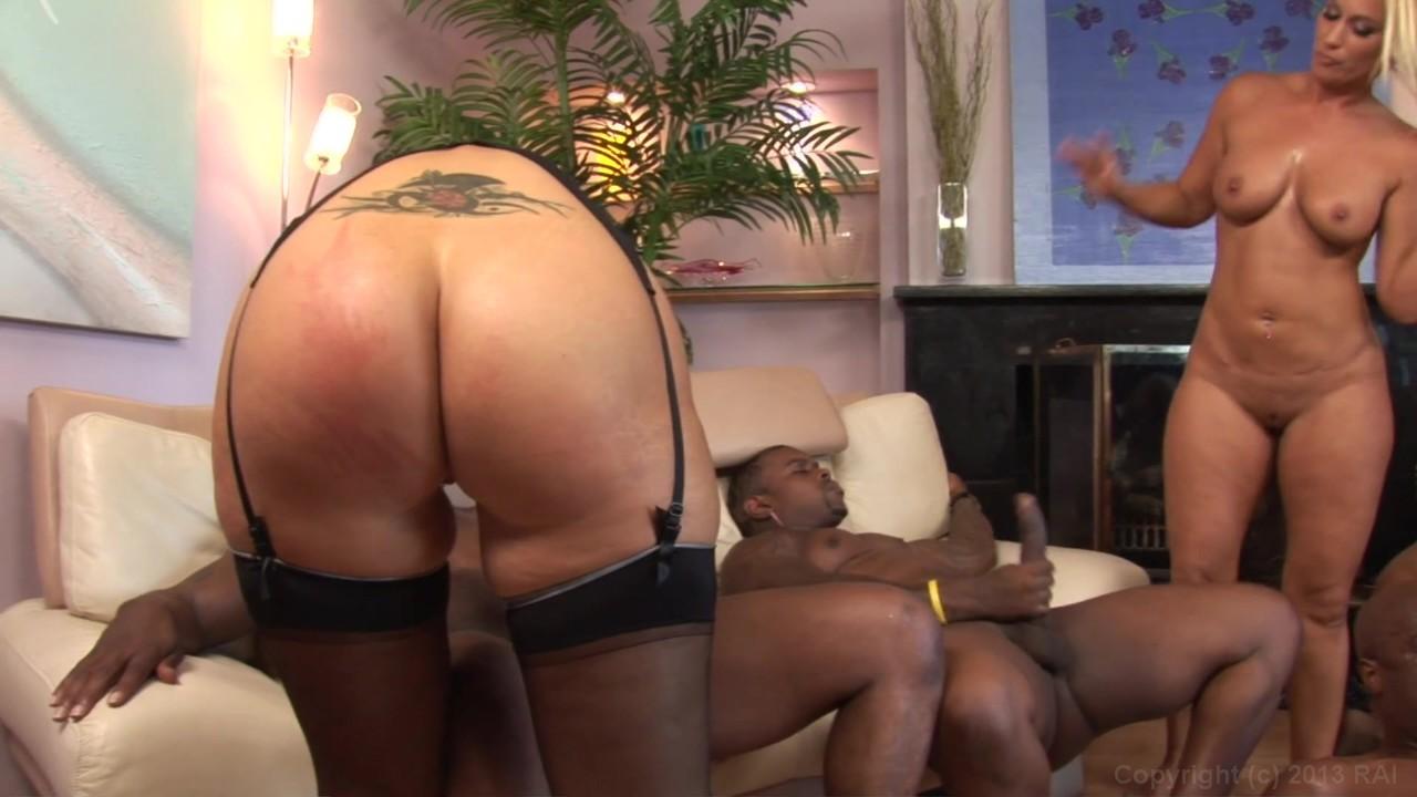 Big tit ebony rides dick A brides revenge!