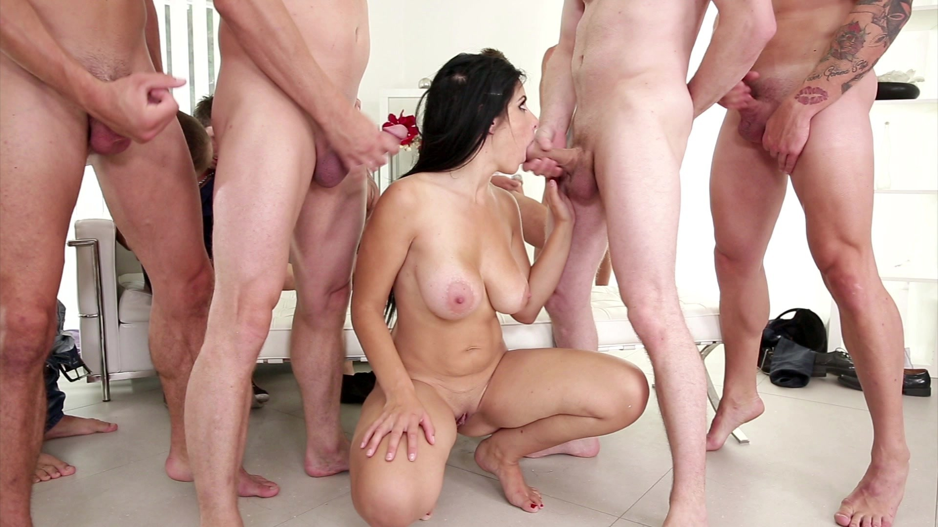 Multiple amateur blowjob internal