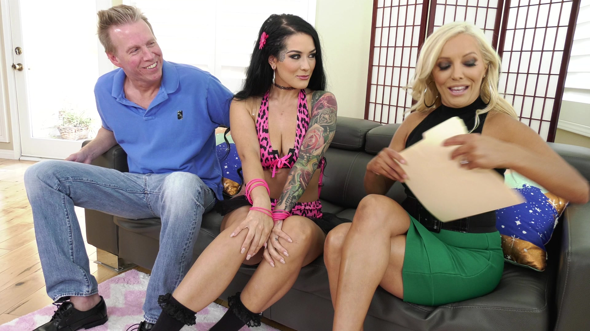 Scene with Francesca Le, Mark Wood and Katrina Jade - image 7 out of 20