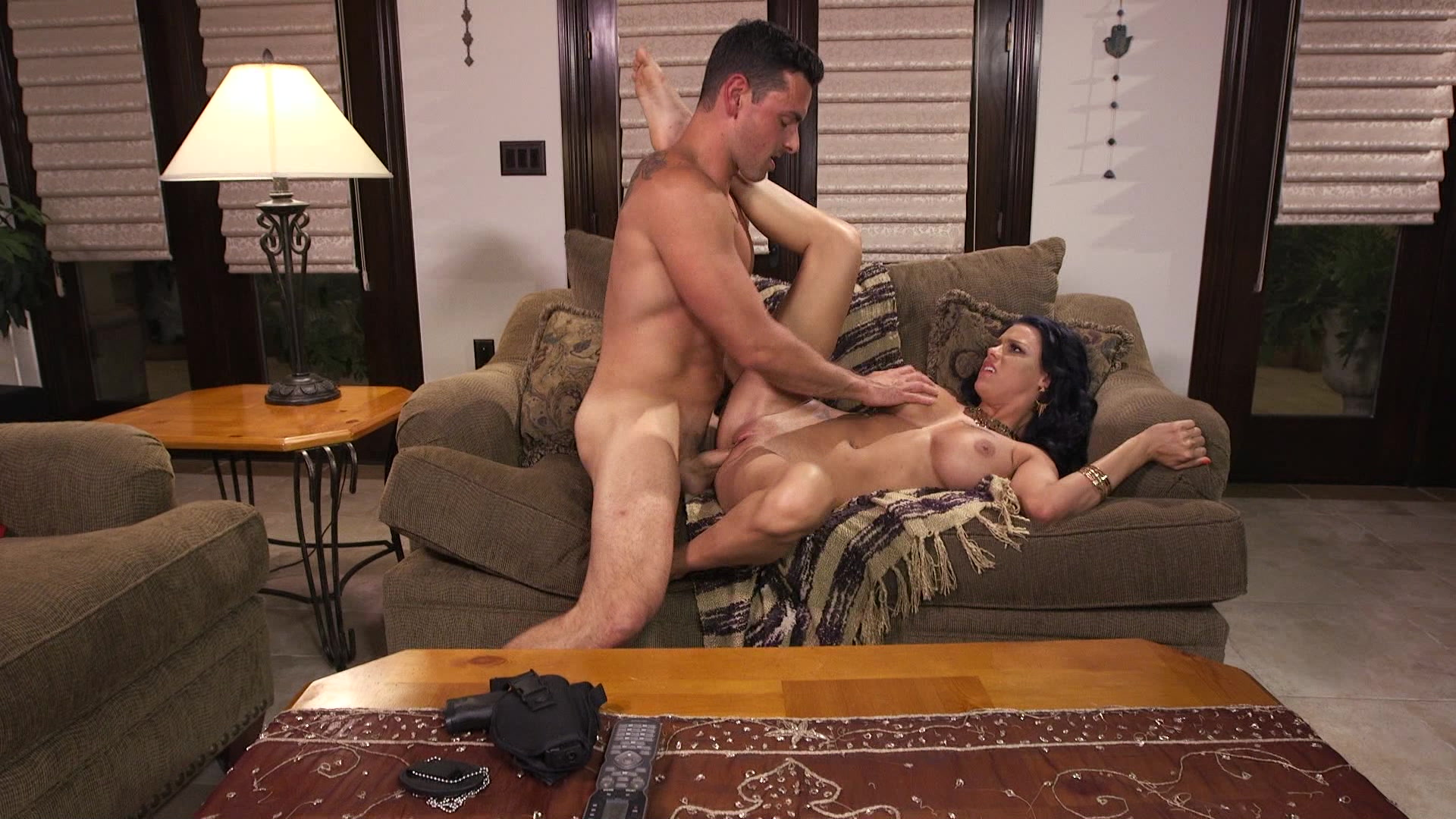 Busty Brunette Beauty Peta Jensen Sucks and Fucks Ryan Driller Starring: Ryan Driller Peta Jensen Length: 27 min