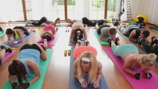 Aerobic Angels Paula (VII) Rachel (V) Fitness Rooms