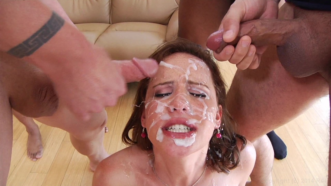 Mature female giving head job