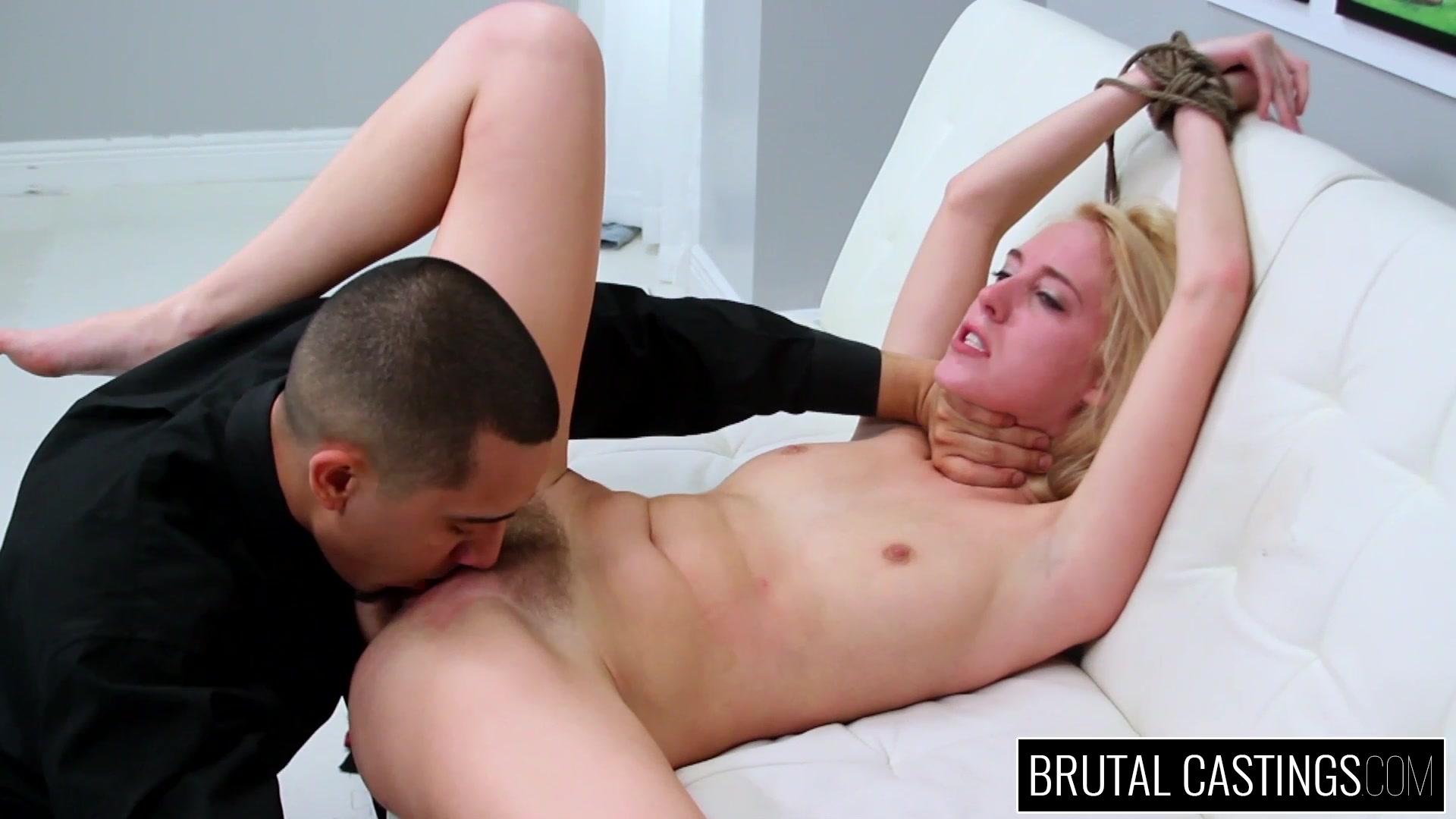 Brutal Casting Porn