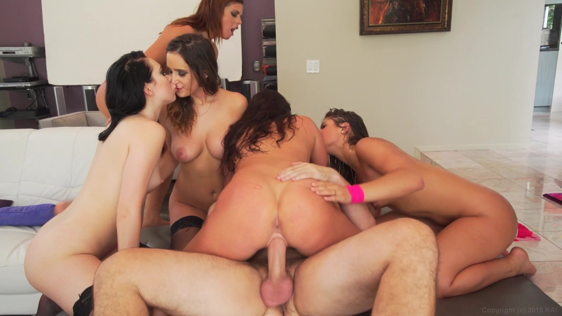Alluring watch for free now gangbang