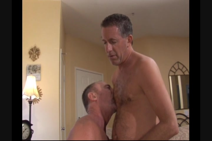 Gay guy gives blowjob