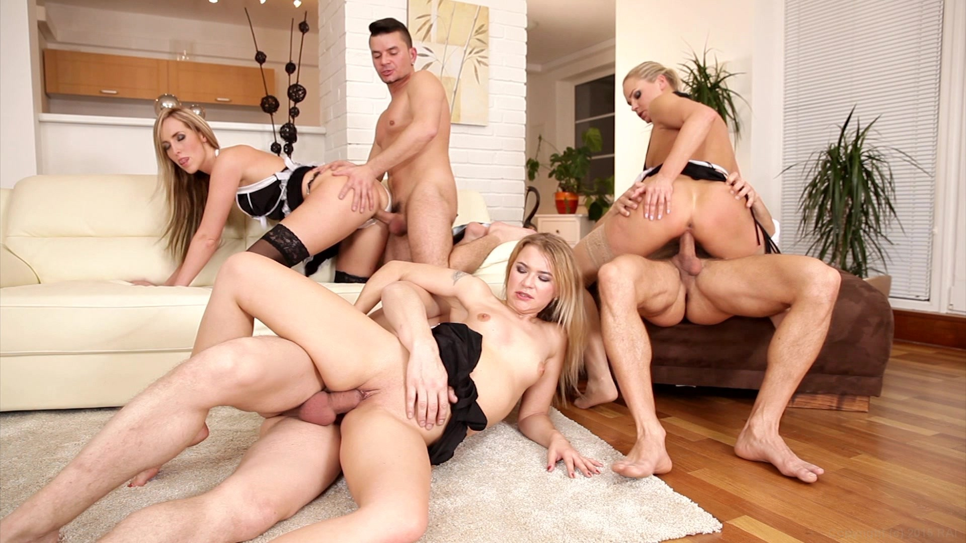 Toe Sucking Swinger With Girls Trampling