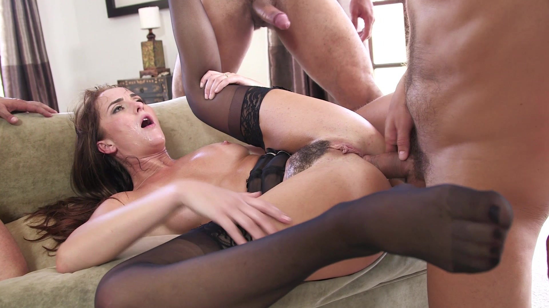 Vanessa blue triple penetration