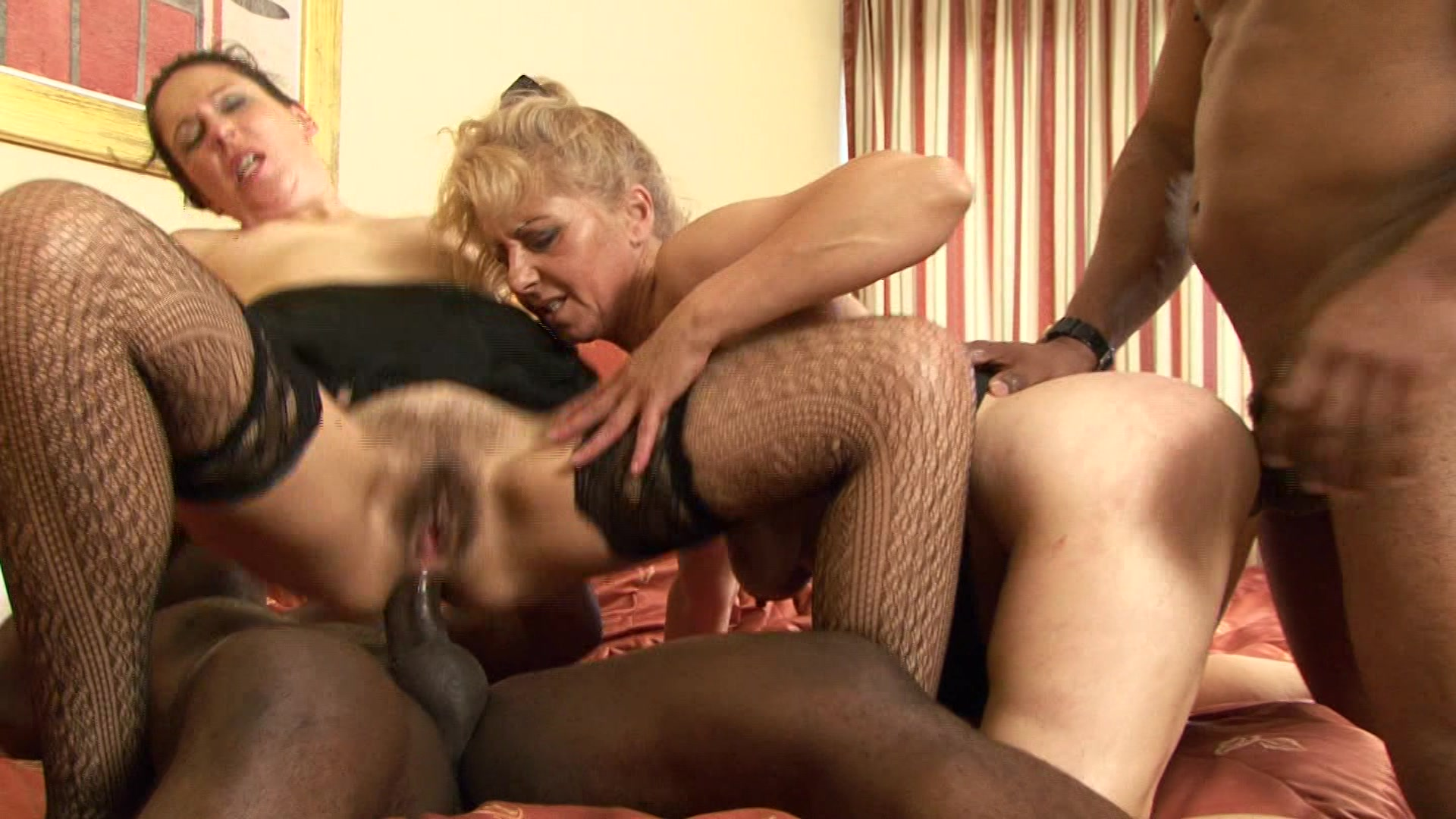 Old women interracial pics