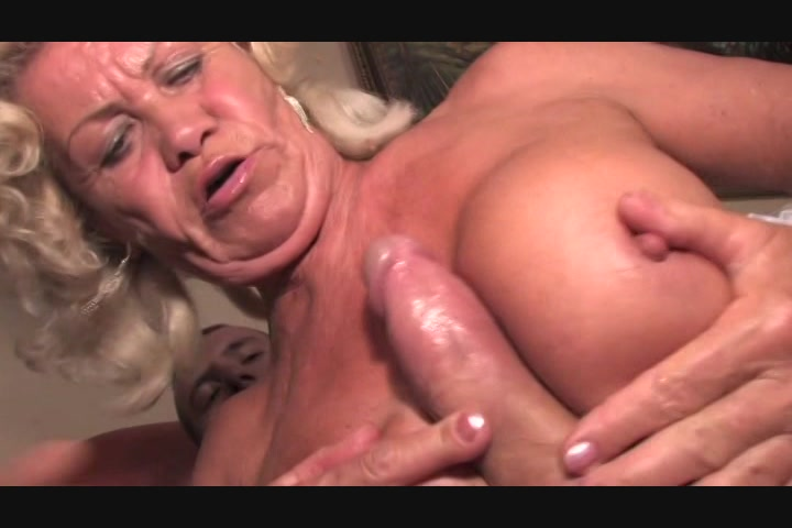 Mature blonde sucking cock and gets pounded