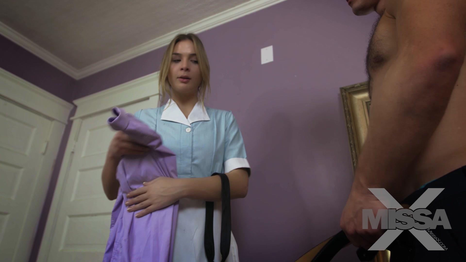 Maid blackmailed