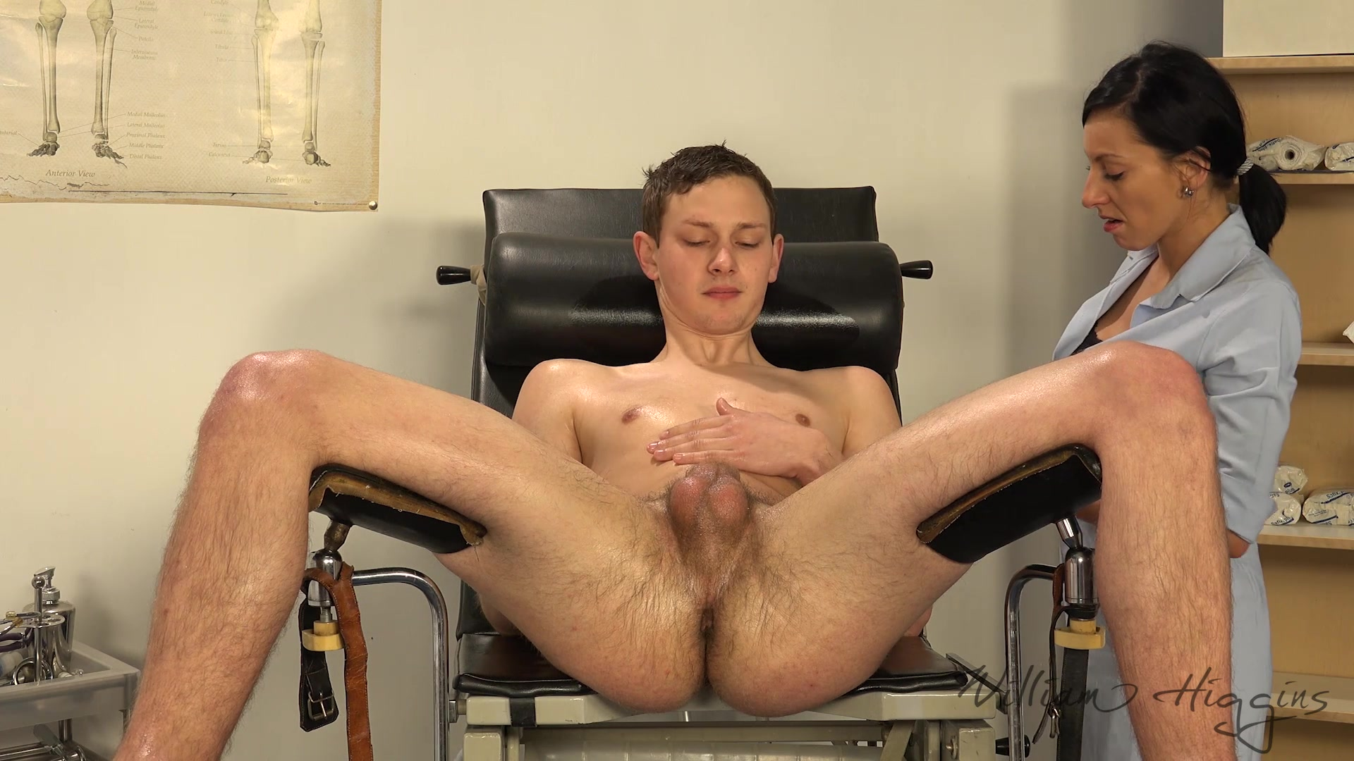 horny stud gets his ass fucked during his massage