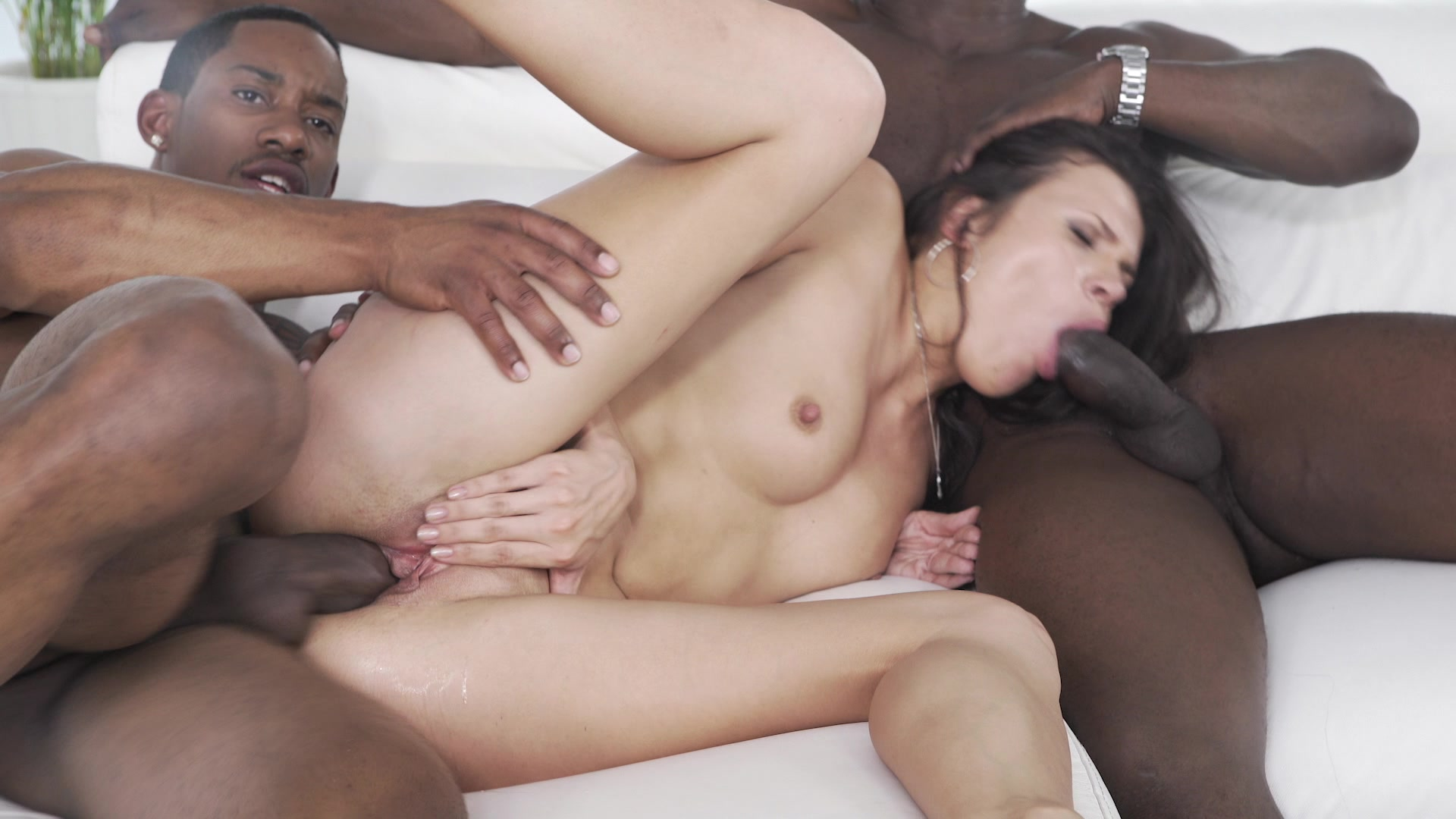 Cute White Girls Love Big Black Cocks 3  Private -1361