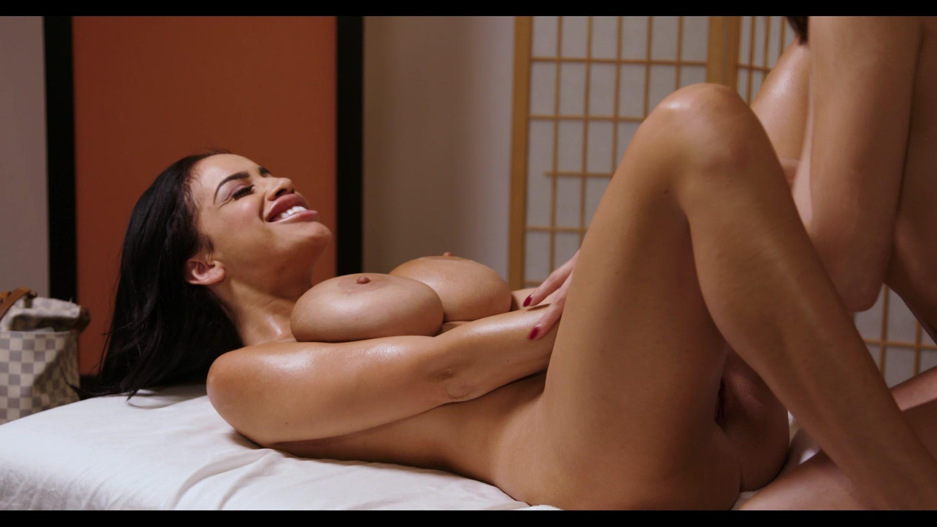 Lesbian masaje