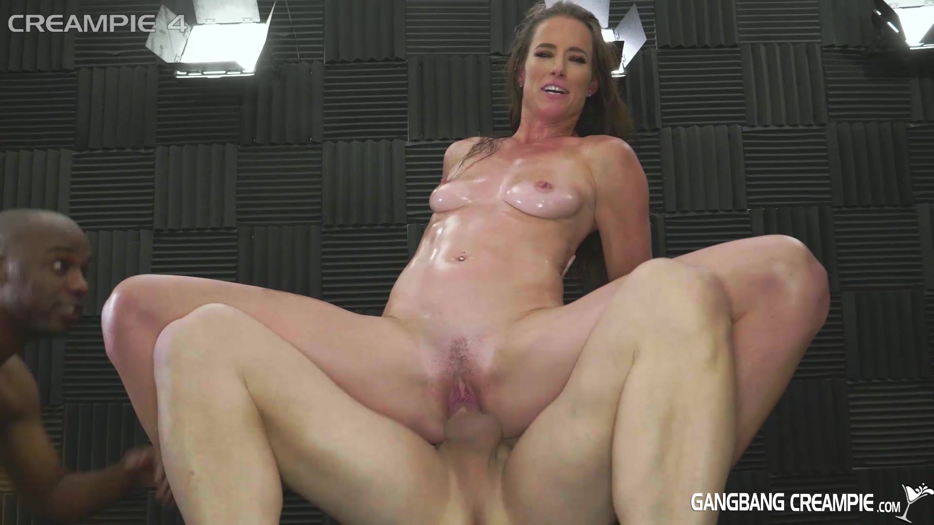 Gangbang Creampie Fuck And Fill My Wife, Please  Aziani -3798