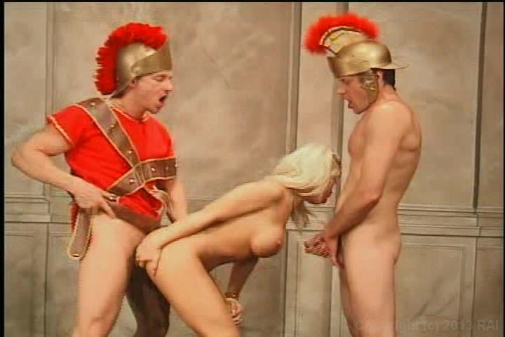 Gladiator fucking a whore