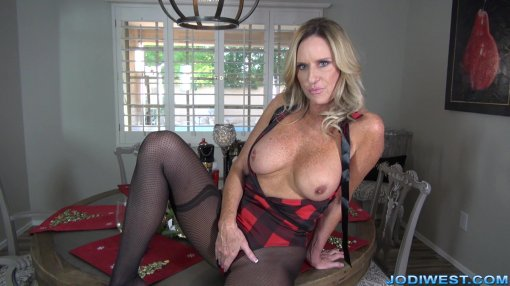 Jodi West - No Blue Balls on XXXmas image.