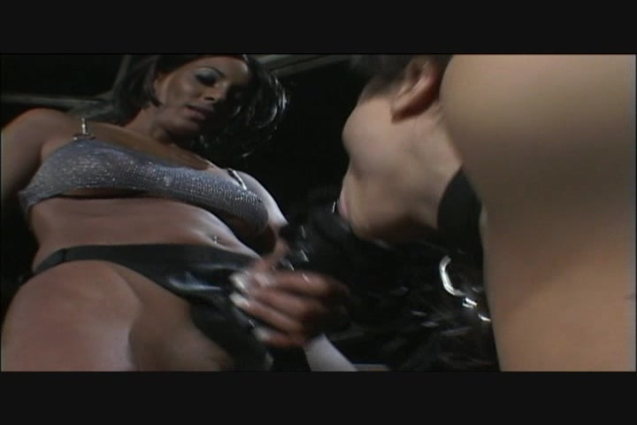 Lesbian Beauties Use the Strap-On to Cum