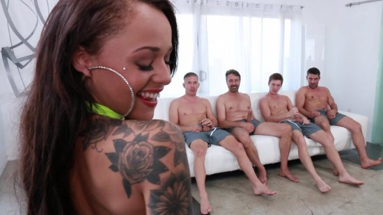 Gangbanged 9 featuring Holly Hendrix