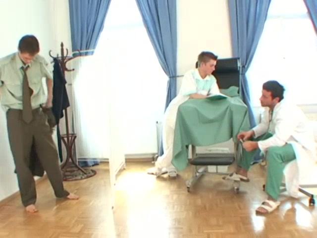 Rudy And Jirka Medical Check Up