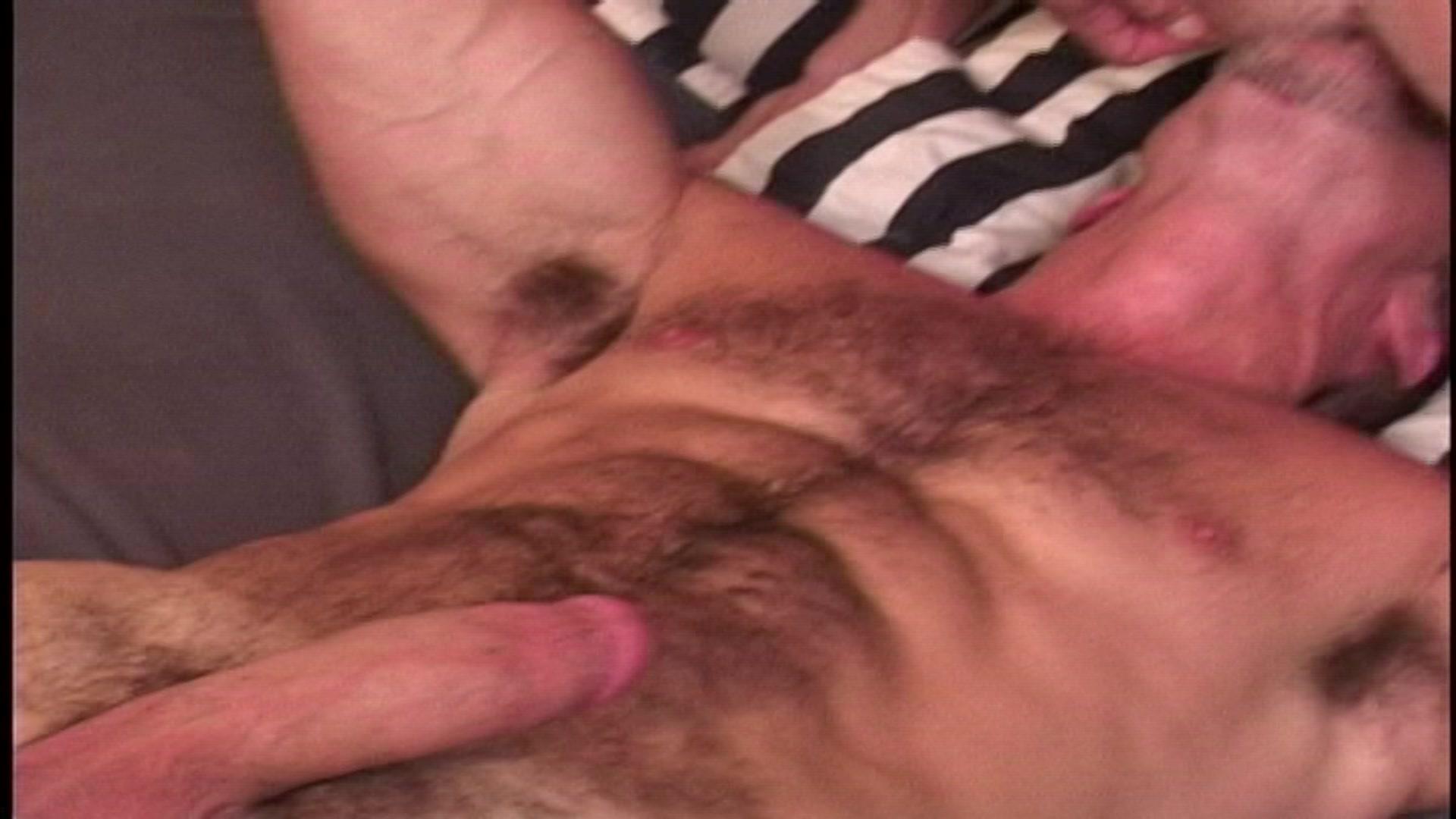 Colton lays garrett down on his back sliding his dick inside