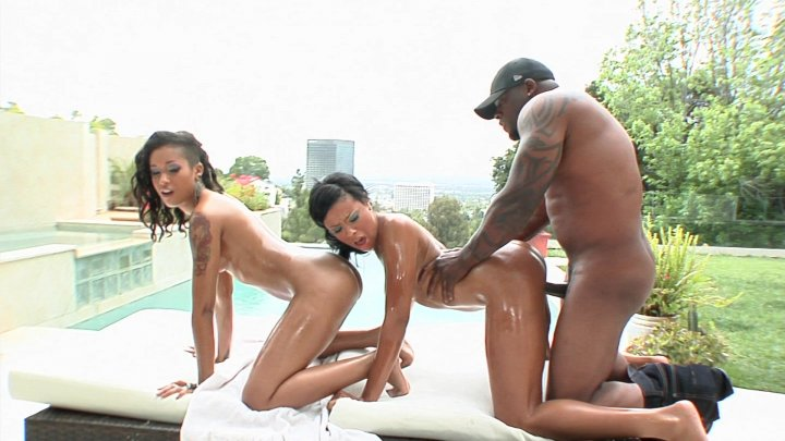 Streaming porn video still #1 from Phat Black Juicy Anal Booty 8
