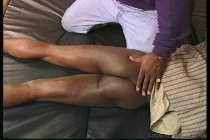 Black master spank