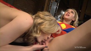 Streaming porn video still #6 from Superman vs Spider-Man XXX: A Porn Parody