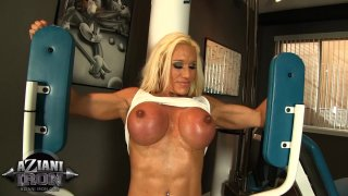 Streaming porn video still #4 from Aziani's Iron Girls 6