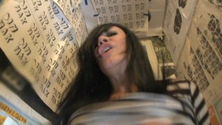 Streaming porn video still #6 from Fuck Me In The Bathroom Number Three