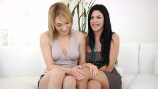 Streaming porn video still #1 from Lesbian Girlfriends 2