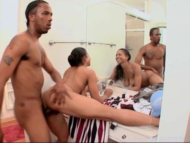Streaming porn video still #11 from Black MILF Ass Fuckers
