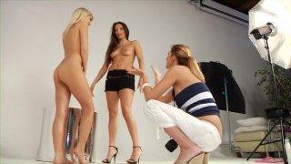 Streaming porn video still #4 from Filthy Office Sluts