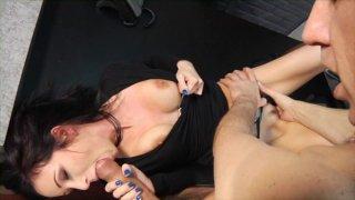 Streaming porn video still #5 from Filthy Office Sluts