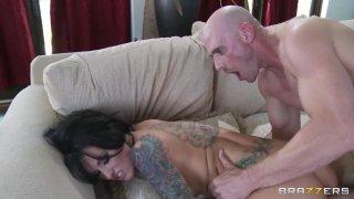 Streaming porn video still #8 from Baby Got Boobs Vol. 10