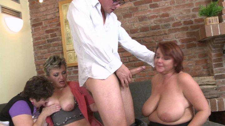 Streaming porn video still #1 from Secret Mature Groupsex Club 3