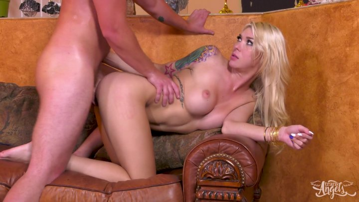 Streaming porn video still #3 from Angels Sneak Around