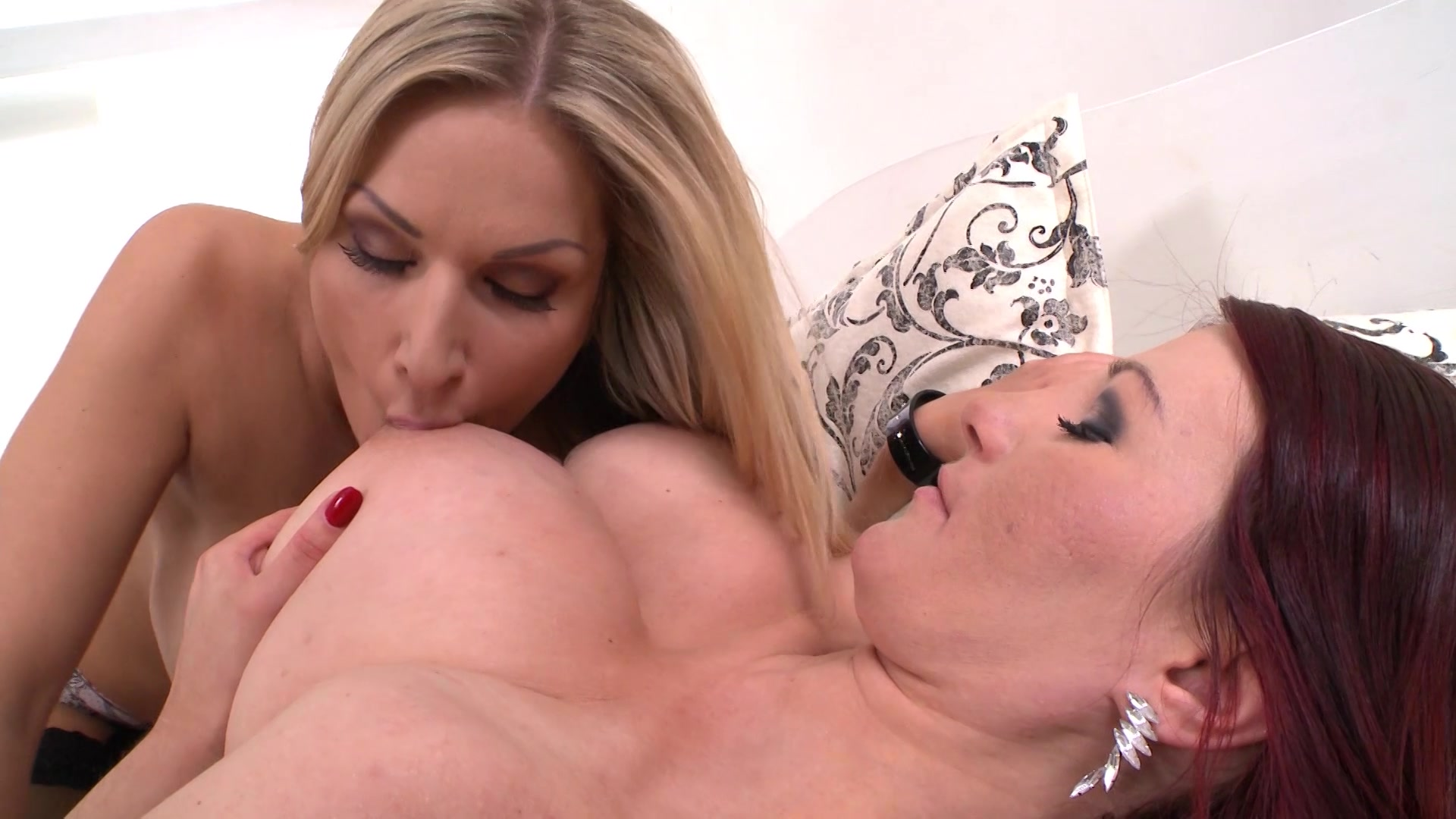 Britney amber uses her giant tits on a hard cock