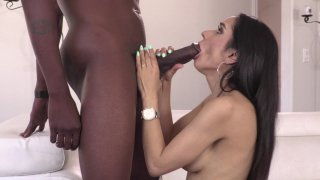 Streaming porn video still #2 from Interracial Size Queens